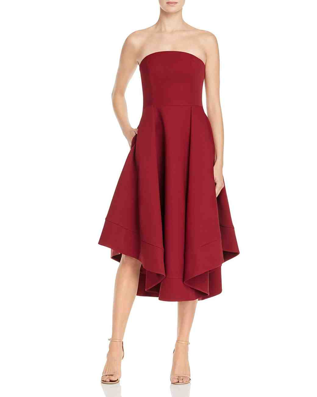 burgundy bridesmaid dress – c/meo making waves