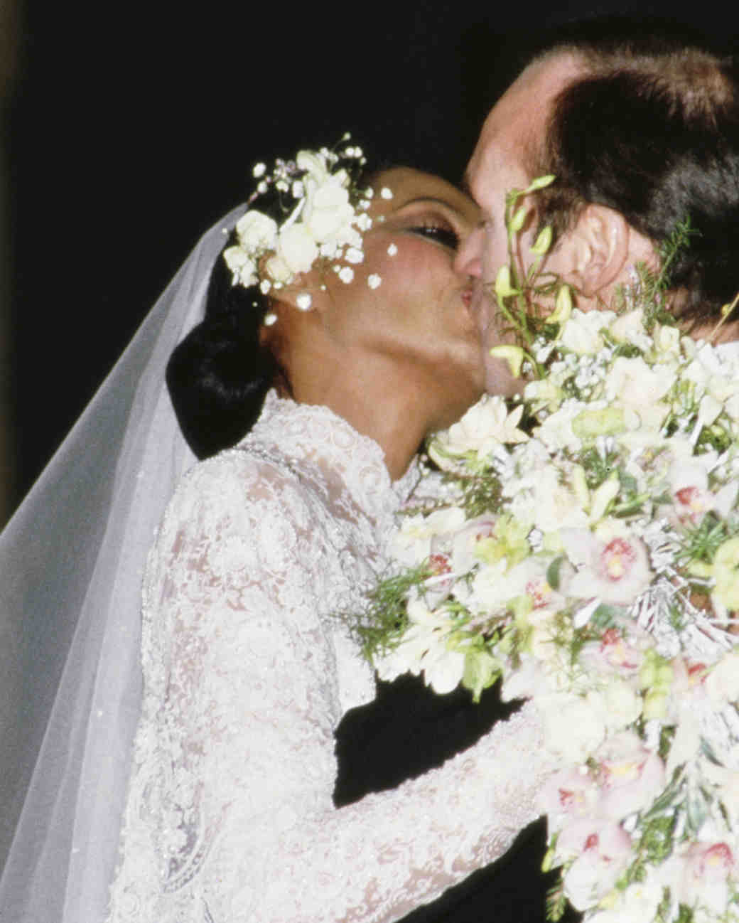 Diana Ross and Arne Naess, Jr. Wedding Photo