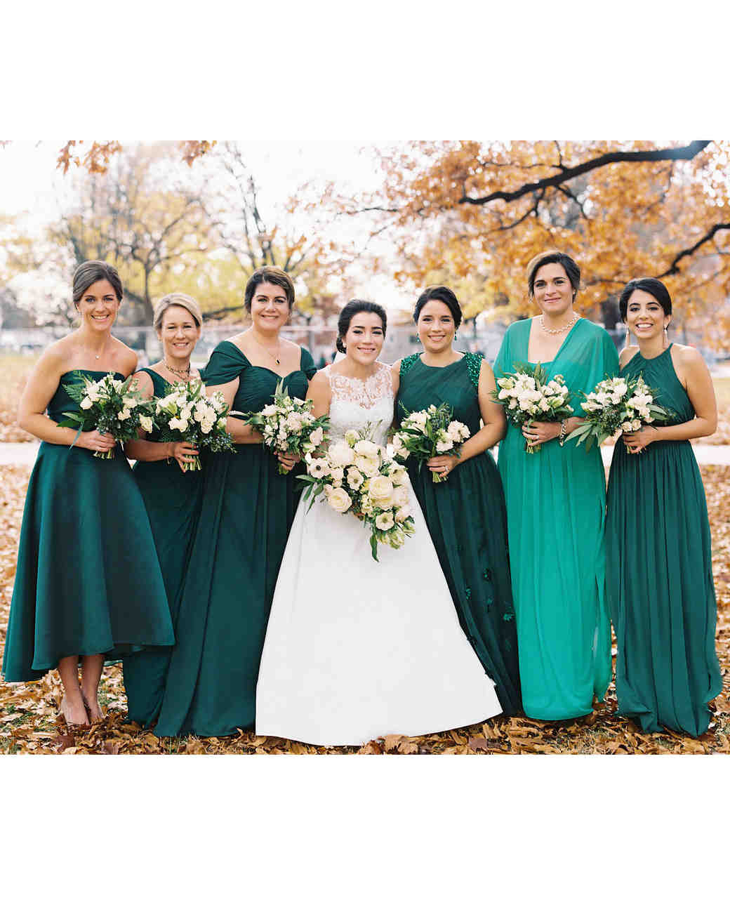 celina rob wedding virginia bridesmaids