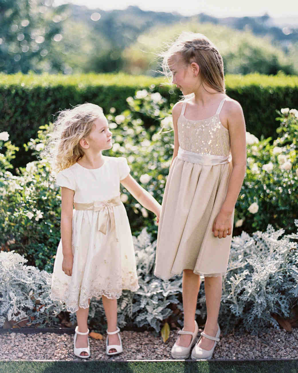 charla jesse wedding flower girls