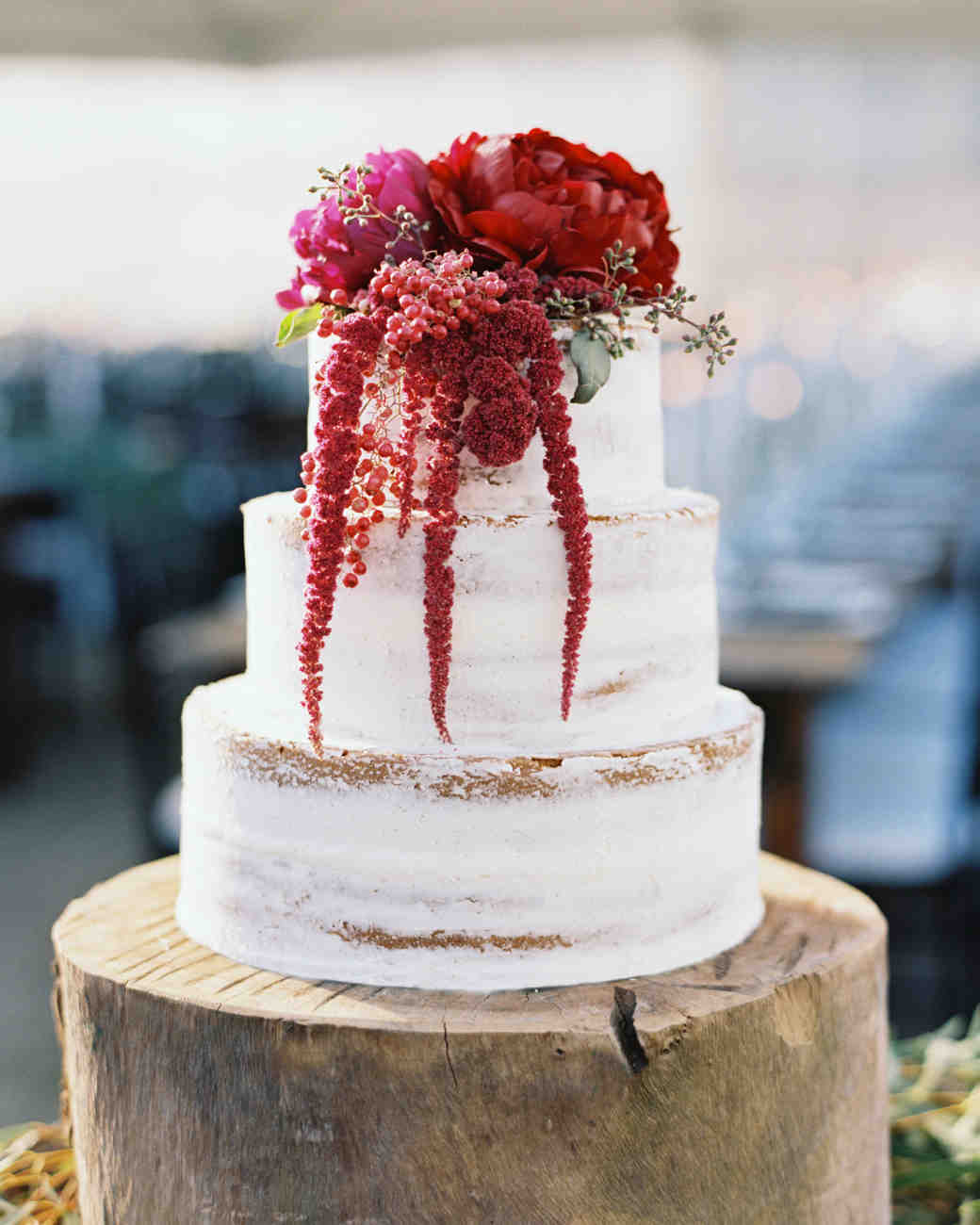 Wedding Cakes With Flowers On Top: 66 Fall Wedding Cakes We're Obsessed With