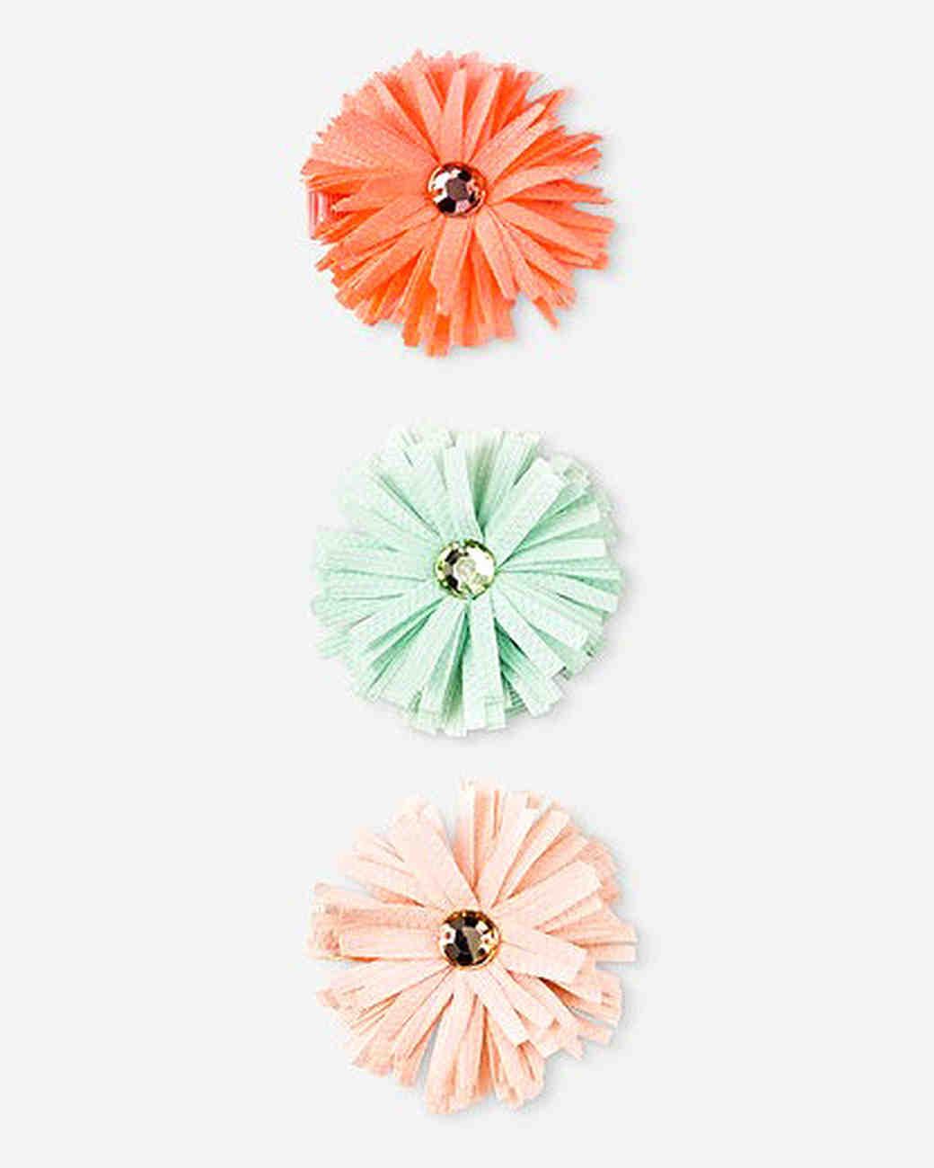 hair flower pin