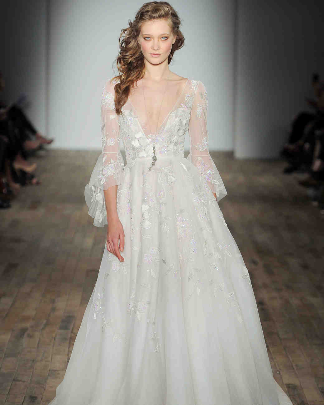 Hayley Paige Spring 2018 Wedding Dress Collection Martha Stewart