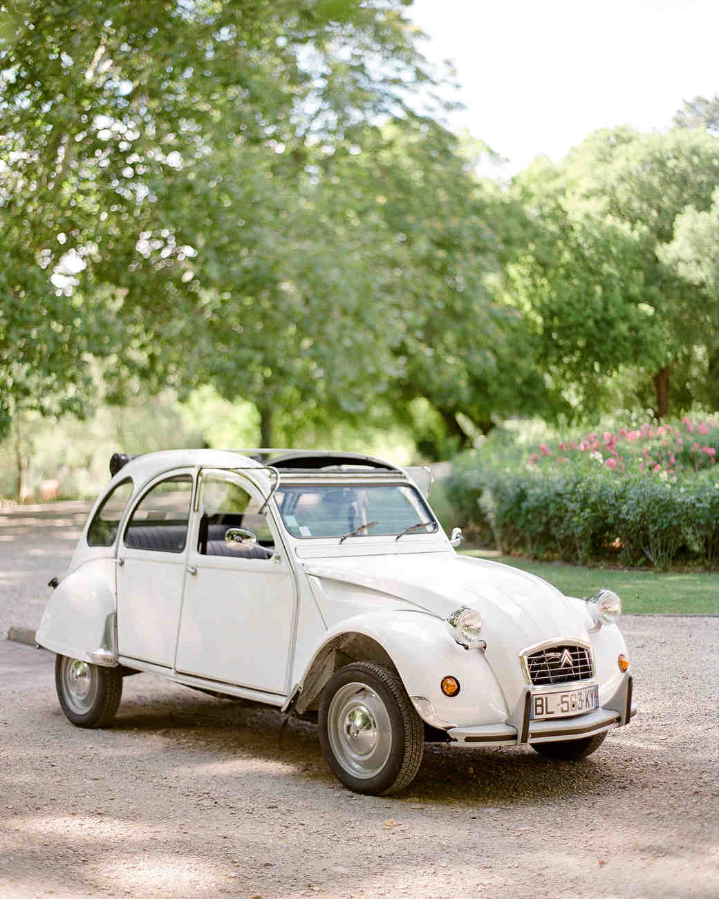 jannicke paal france wedding vintage car