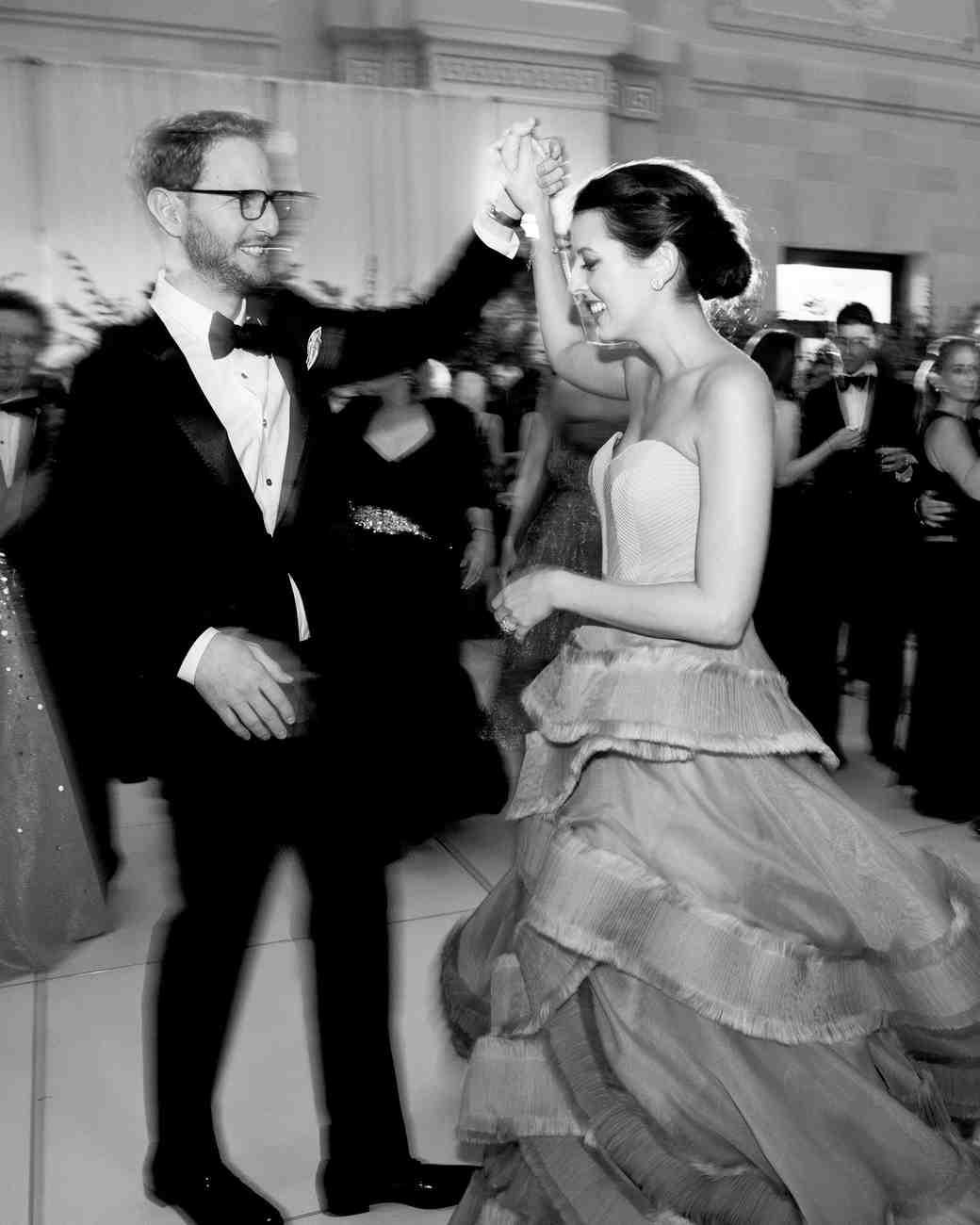 A Stylish Gray-and-Gold Seattle Wedding | Martha Stewart Weddings