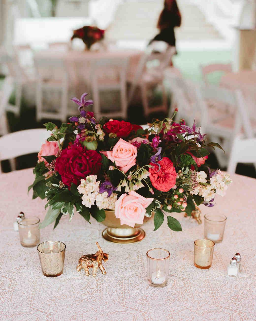 Jewel toned wedding centerpieces that will dazzle your - Jewel tones color wheel ...