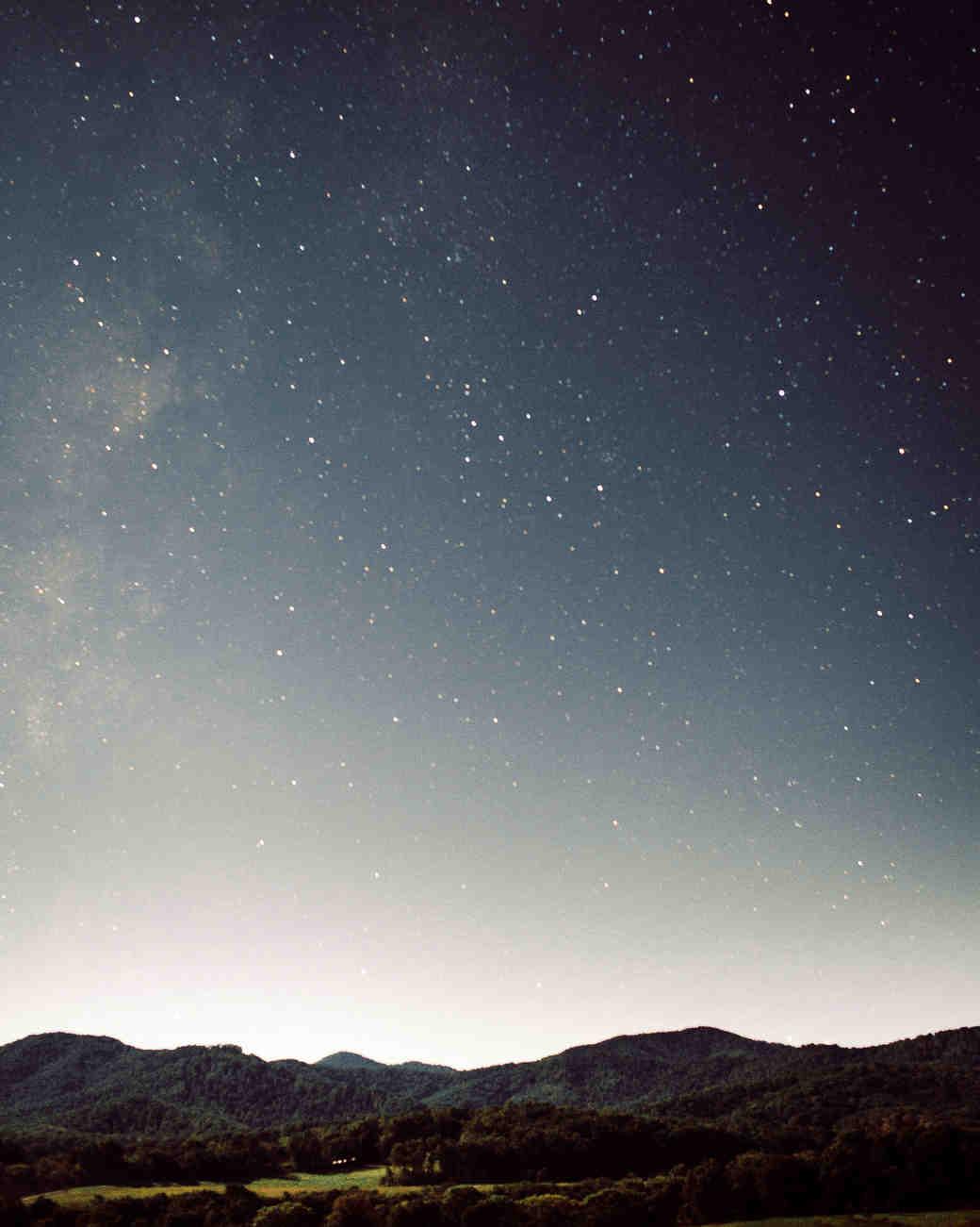 julianne aaron wedding night sky