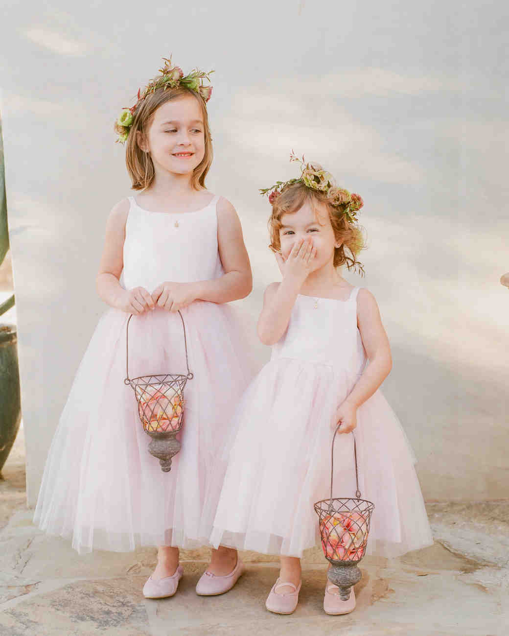 kathryn ian wedding flower girls