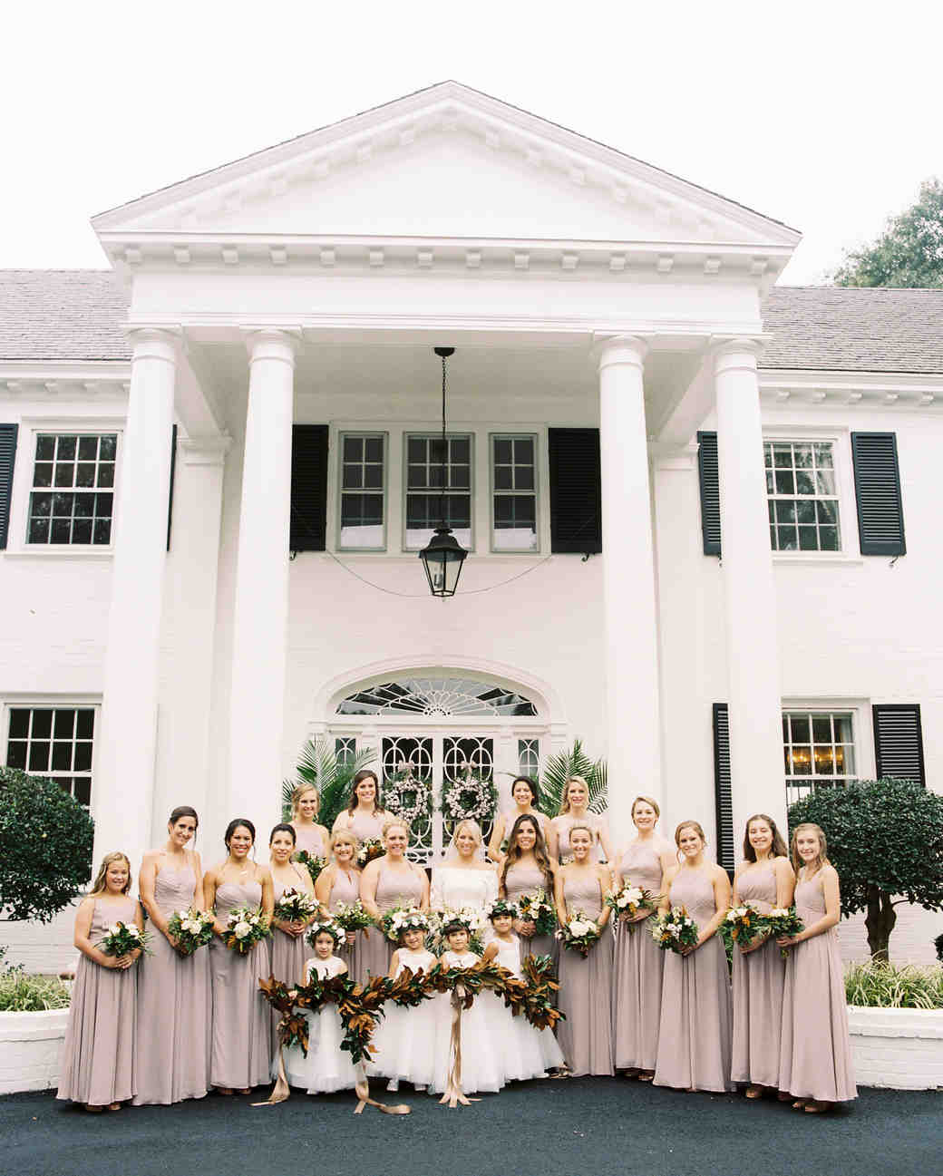 kendall nick wedding bridesmaids
