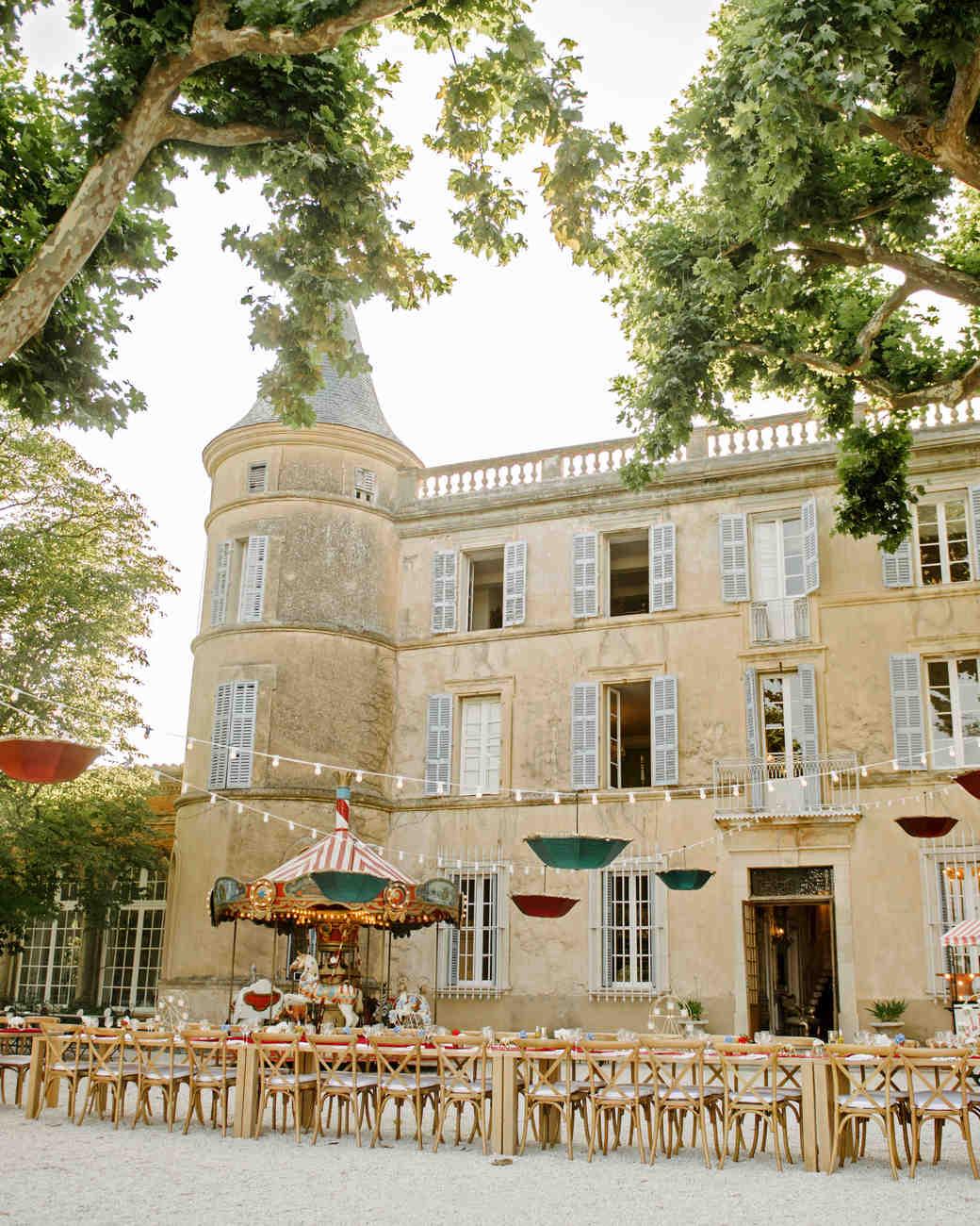 lara kjell circus party chateau building