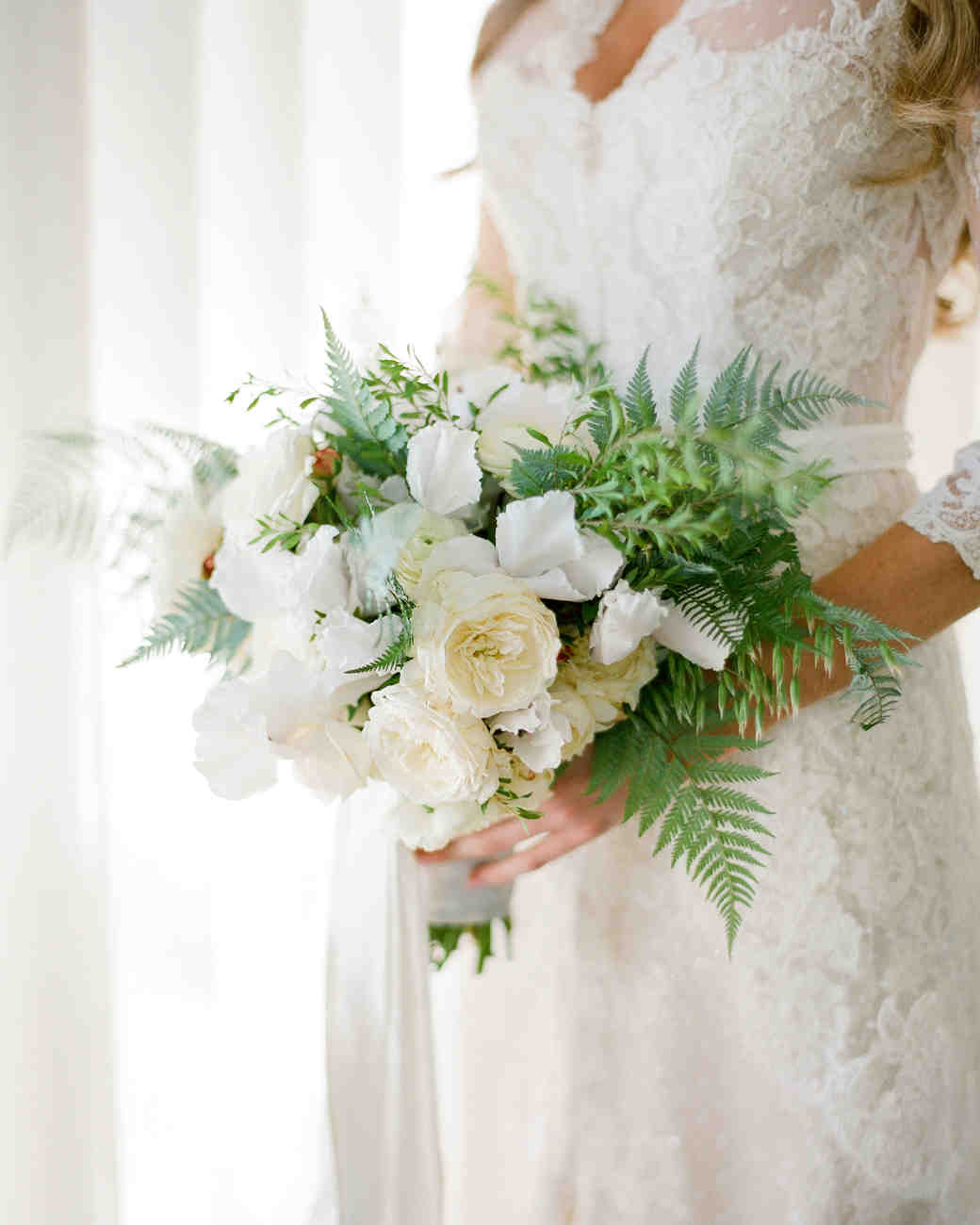 20 Stunning Wedding Bouquets with Ferns | Martha Stewart Weddings