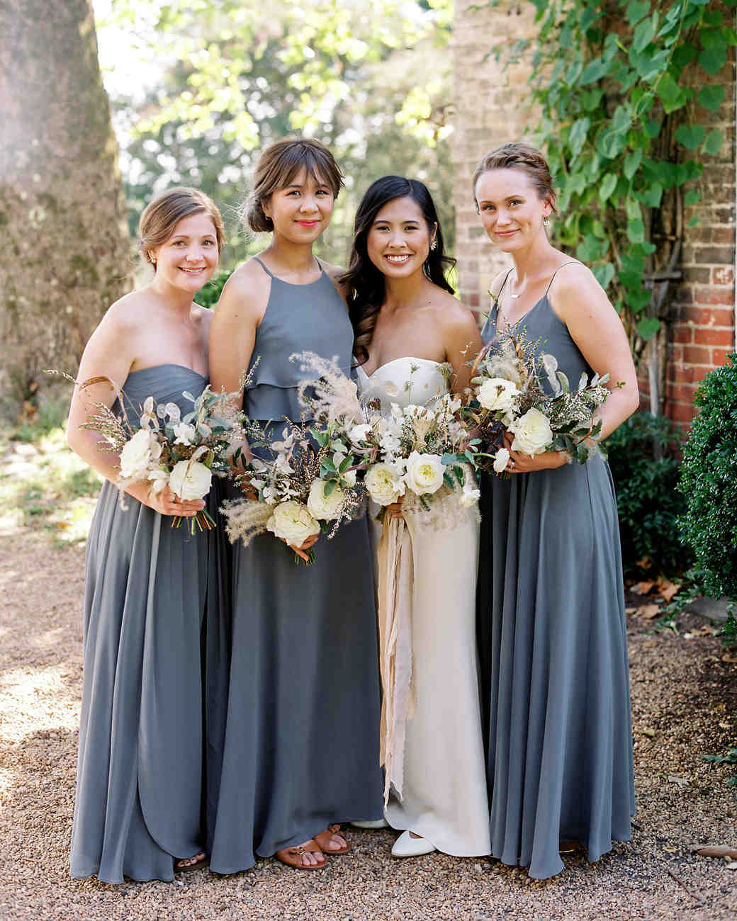 linda robert wedding bridesmaids