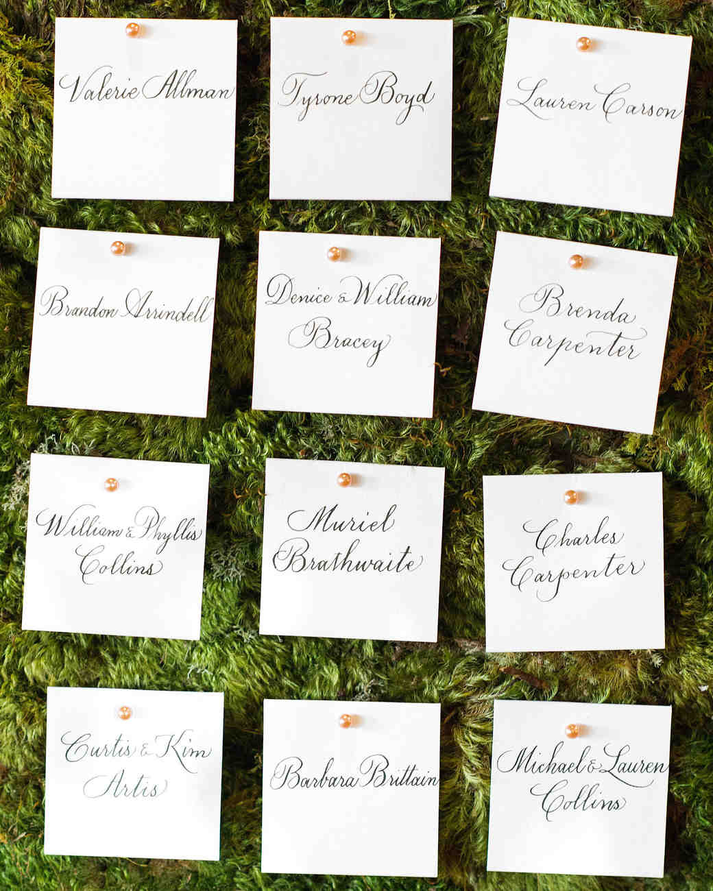 lindsey william wedding dc escort cards