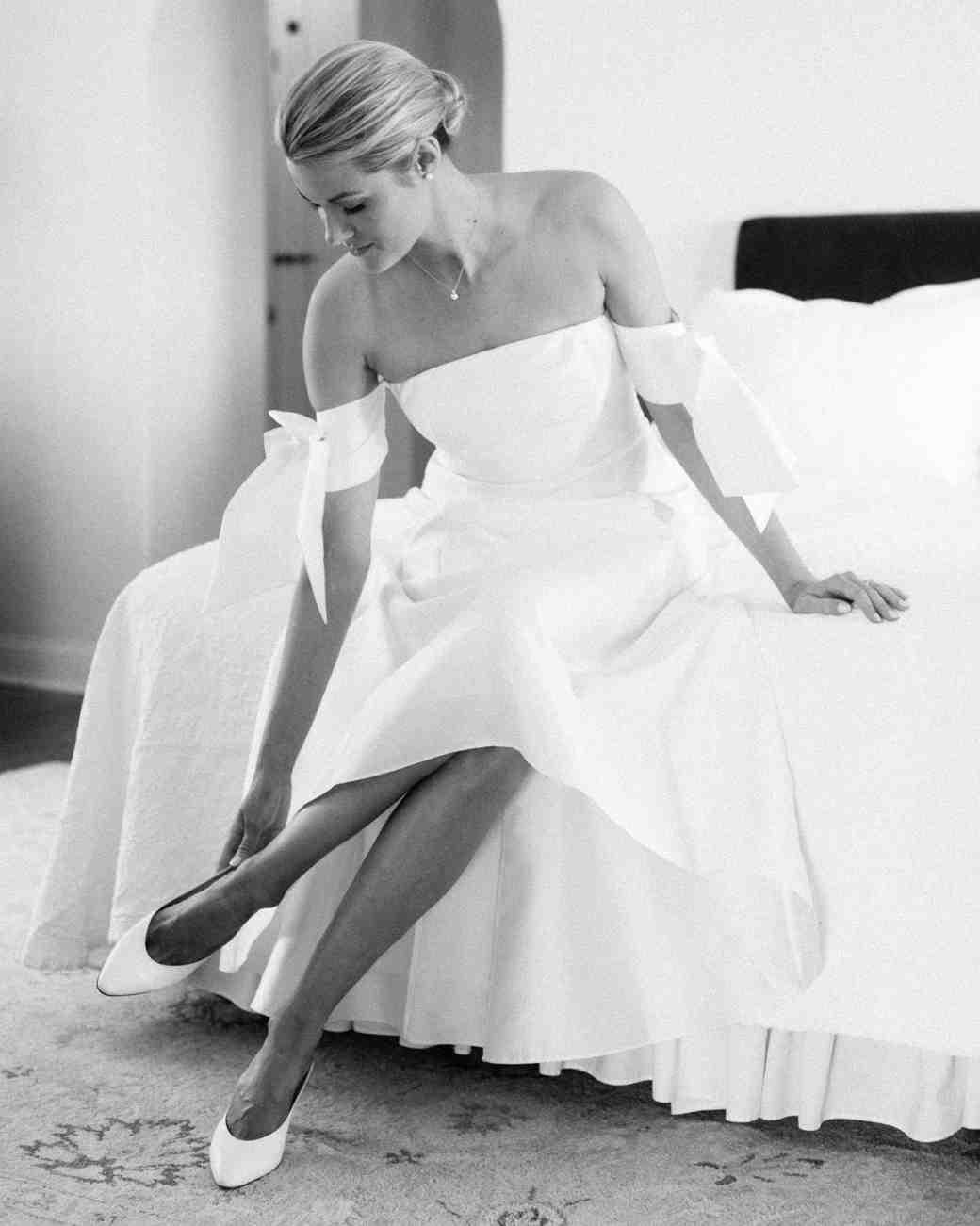 lisa louis wedding getting ready