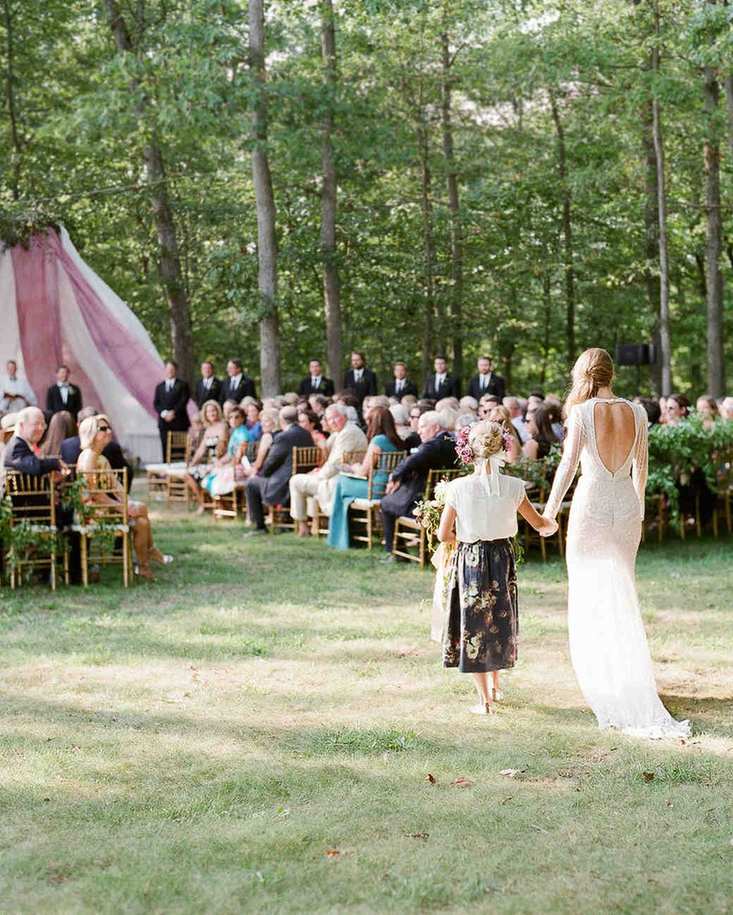 Beach Wedding Ceremony Processional: A Truly Personalized Virginia Wedding