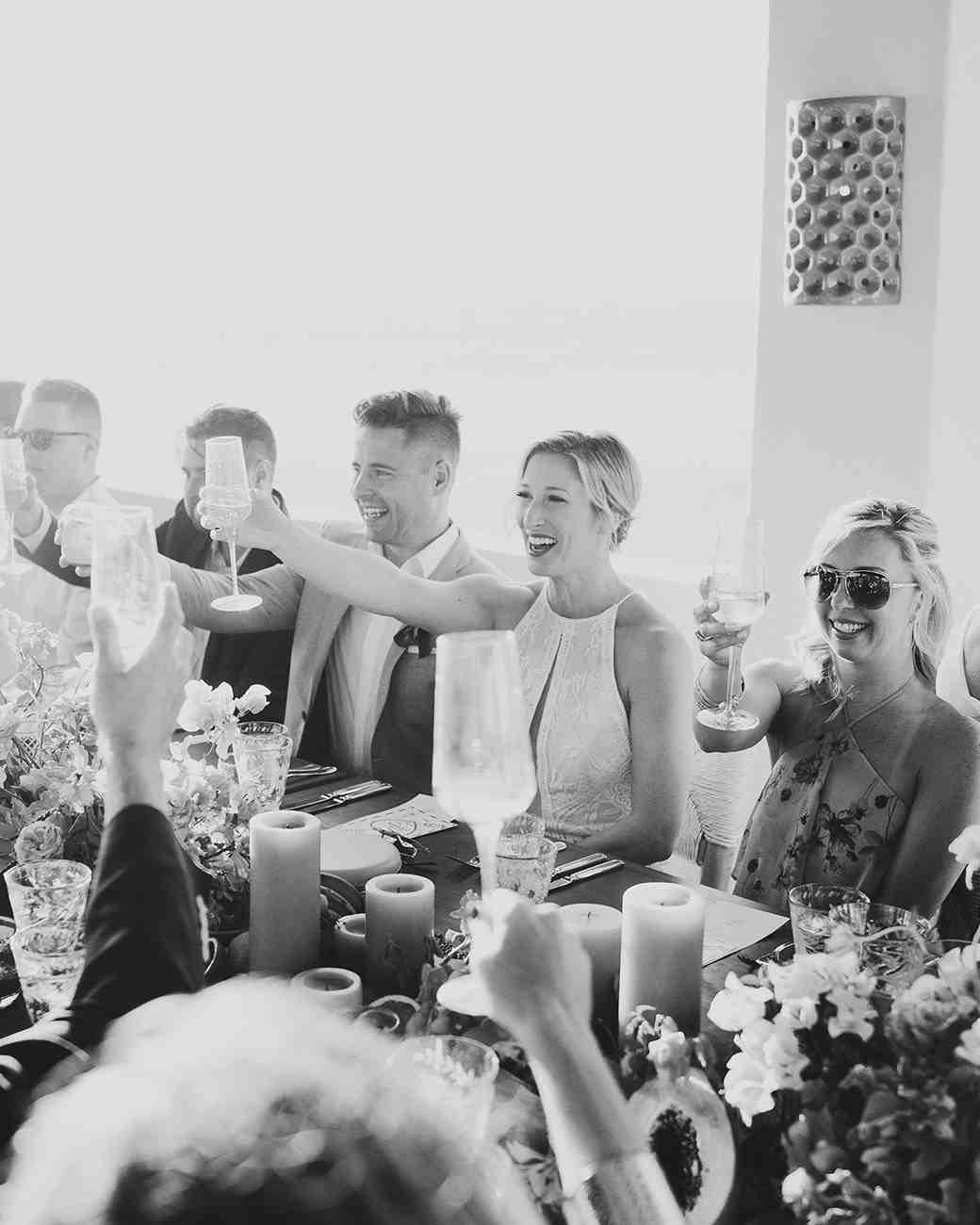 lisa sam mexico wedding reception cheers