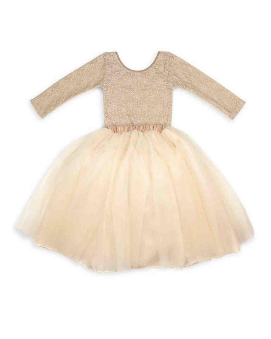 8b0498faed4 The Sweetest Long-Sleeve Dresses for Flower Girls