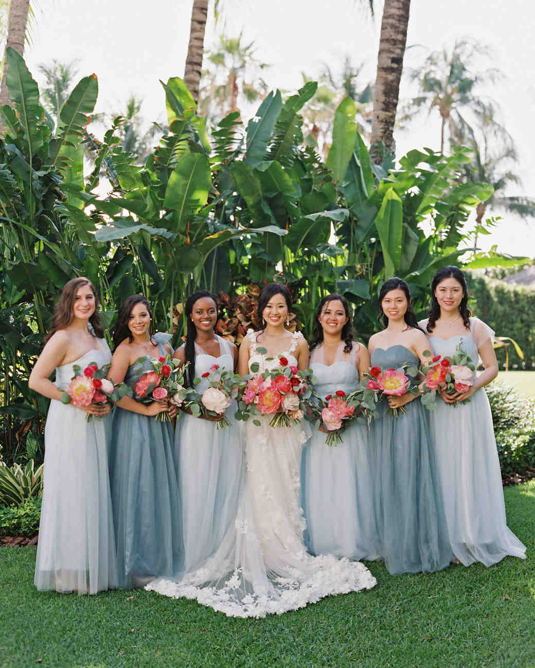 6ec1e060291 28 Mismatched Bridesmaids Dresses from Real Weddings - Best Mix and Match  Bridesmaids Dresses