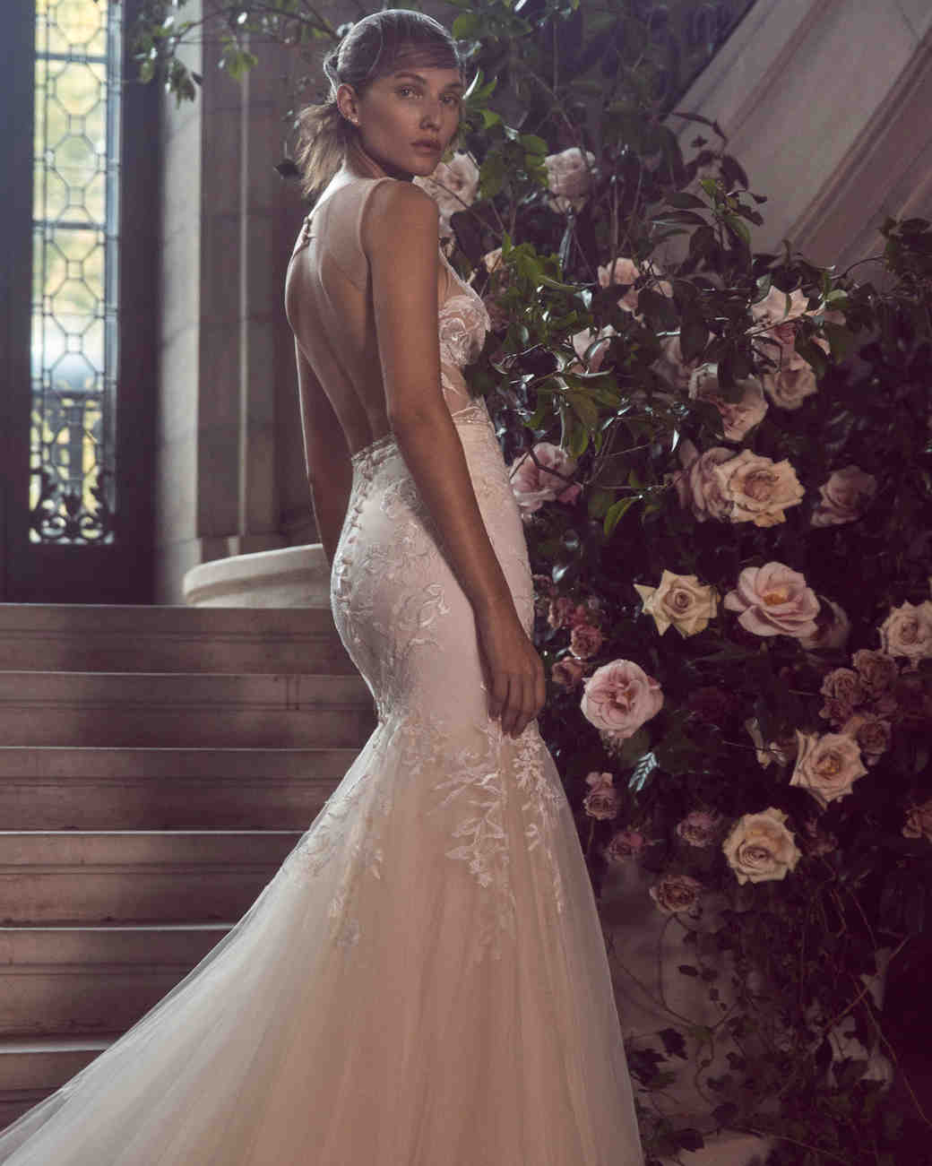 ba8238cb251b Bliss by Monique Lhuillier Fall 2019 Wedding Dress Collection | Martha  Stewart Weddings