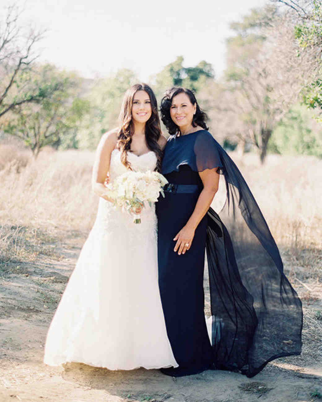 Outdoor Wedding for Mother of the Bride Dress