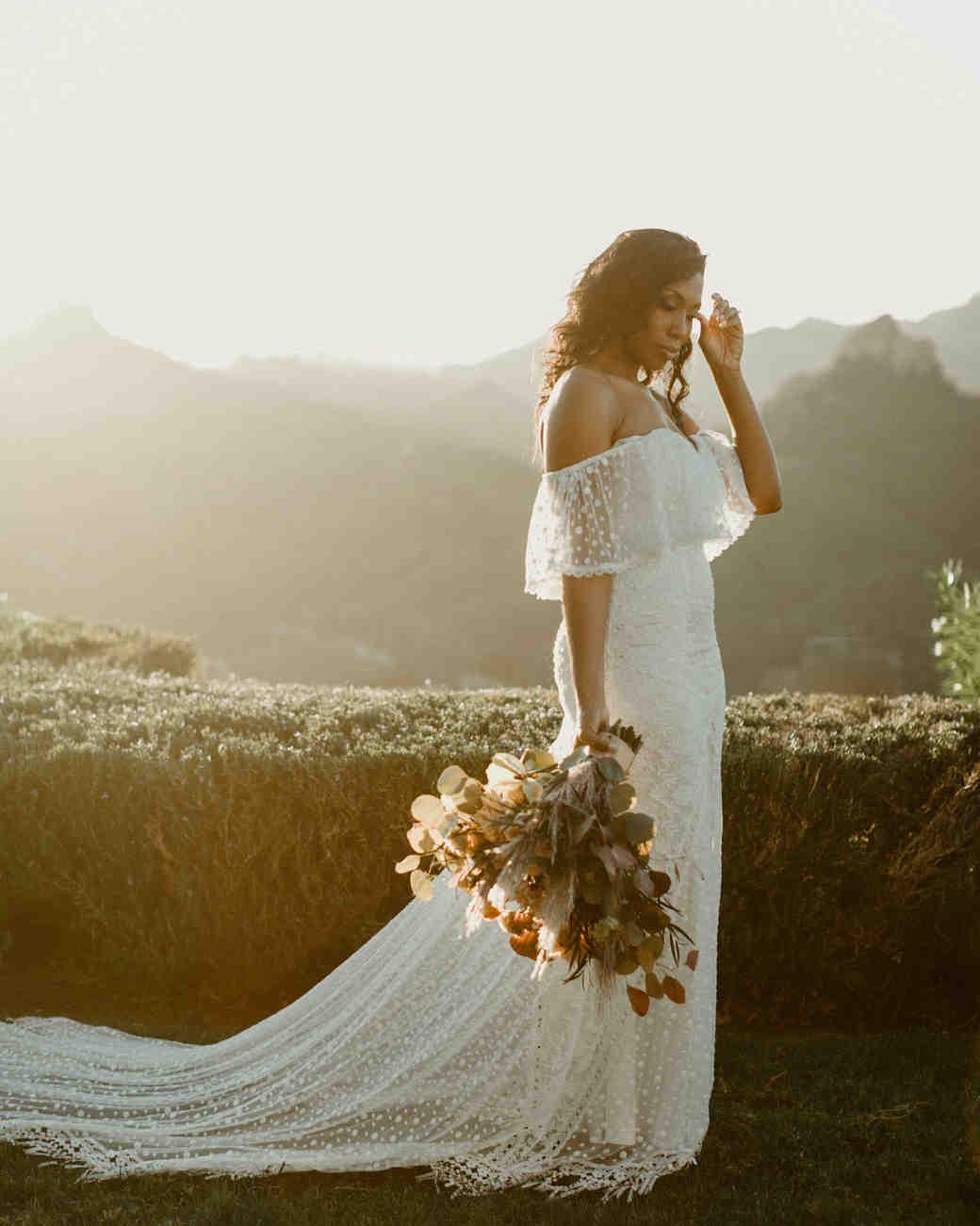 off the shoulder wedding dresses katch silva