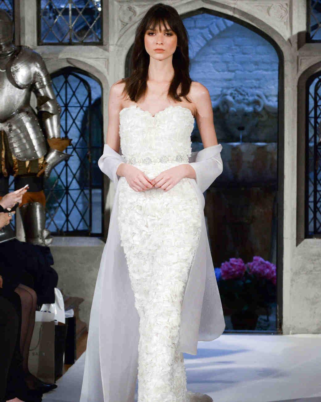 oleg cassini sweetheart wedding dress spring 2018