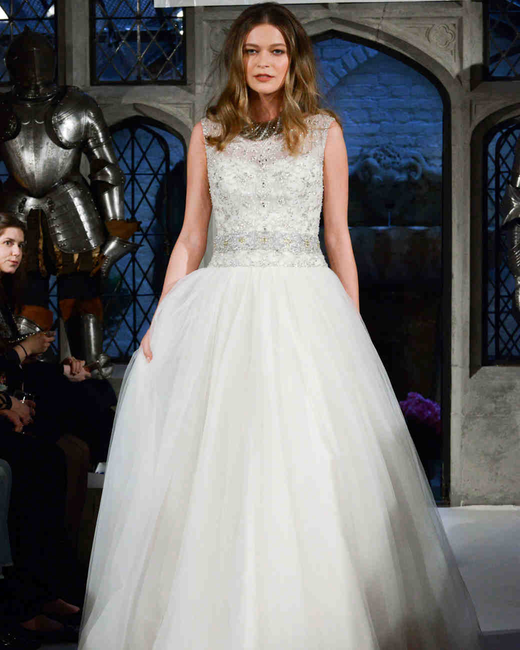 oleg cassini beaded bodice wedding dress spring 2018