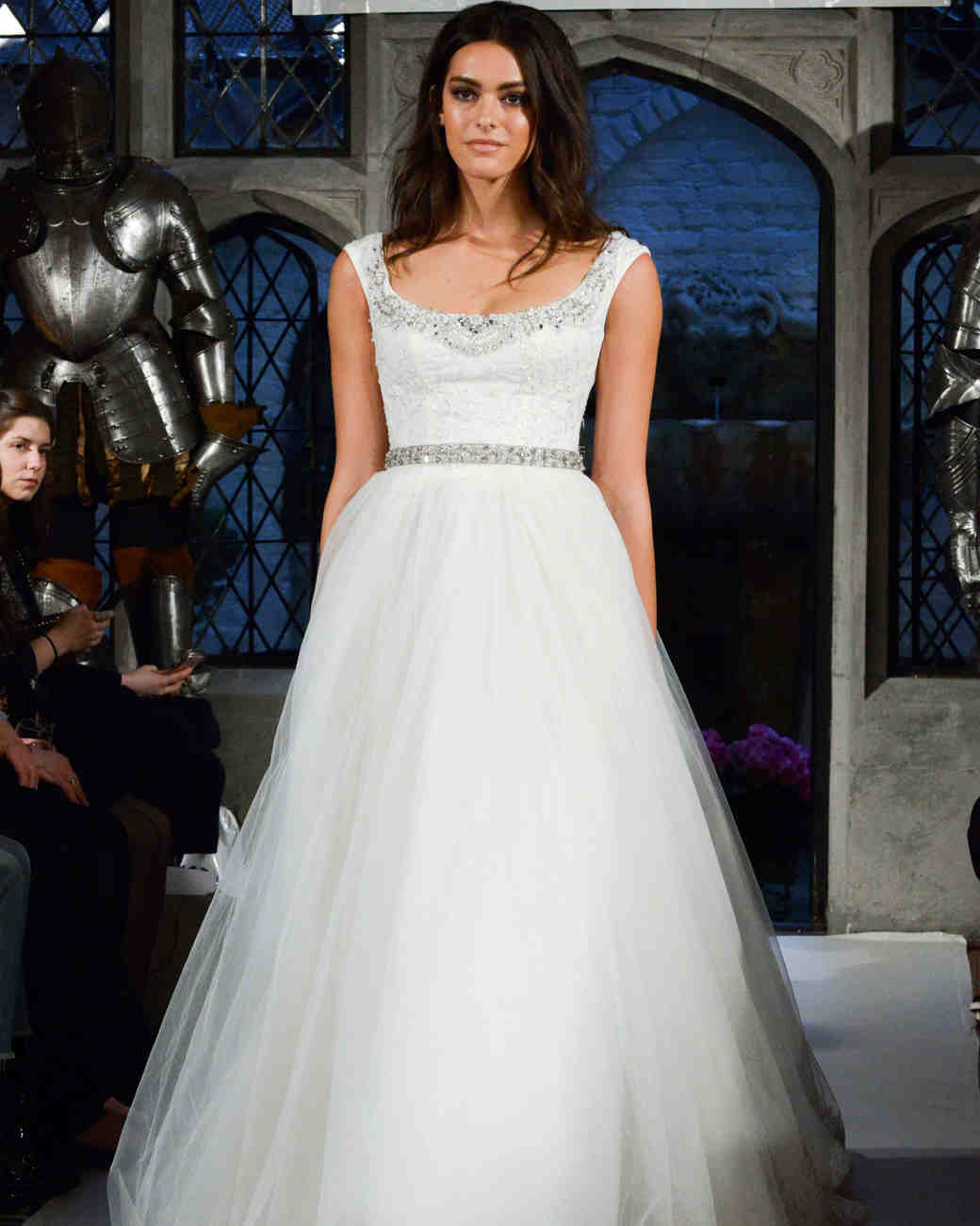 oleg cassini a-line wedding dress spring 2018