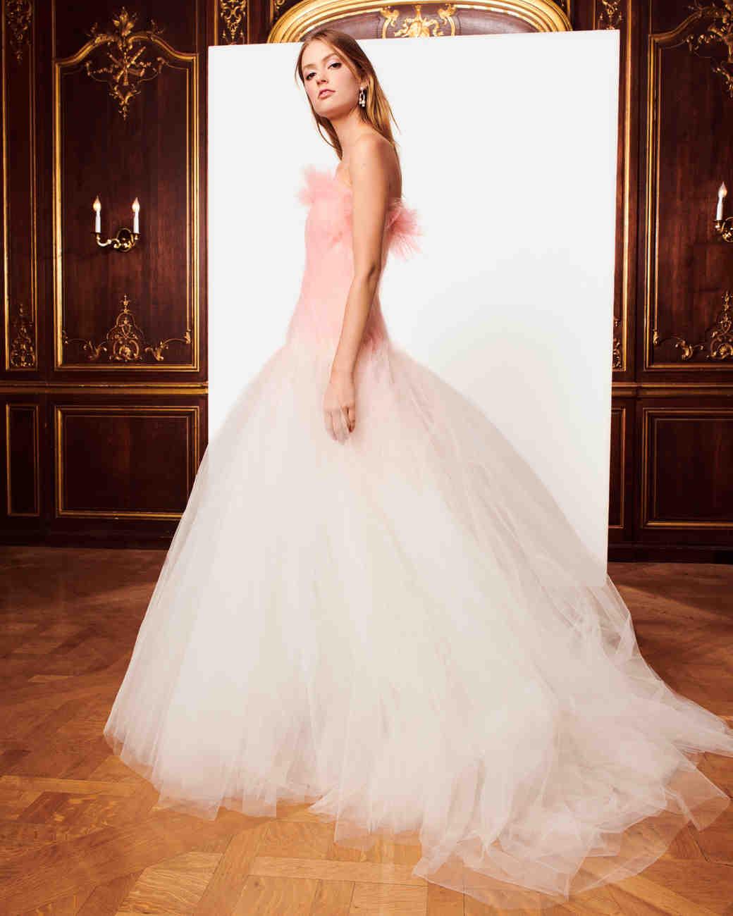 Oscar Dela Renta Wedding Gown