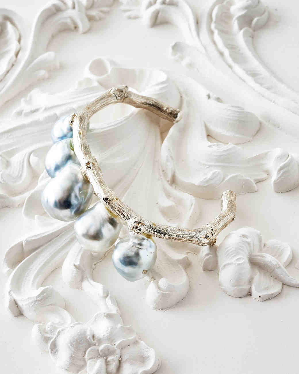 Unexpected Ways to Wear Pearls at Your Wedding | Martha Stewart Weddings