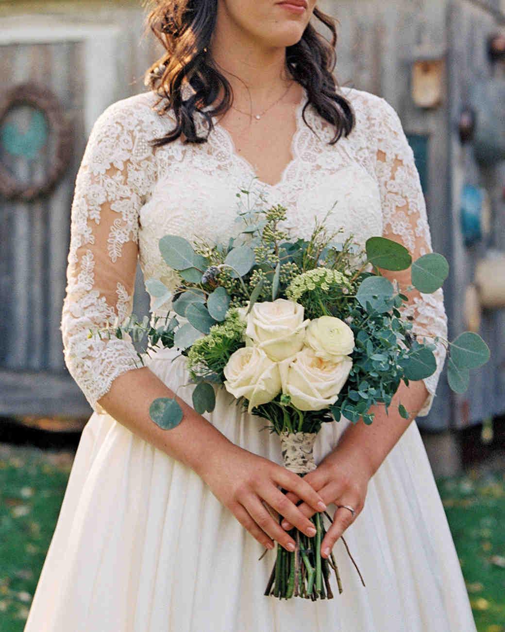 rachel elijah wedding bouquet
