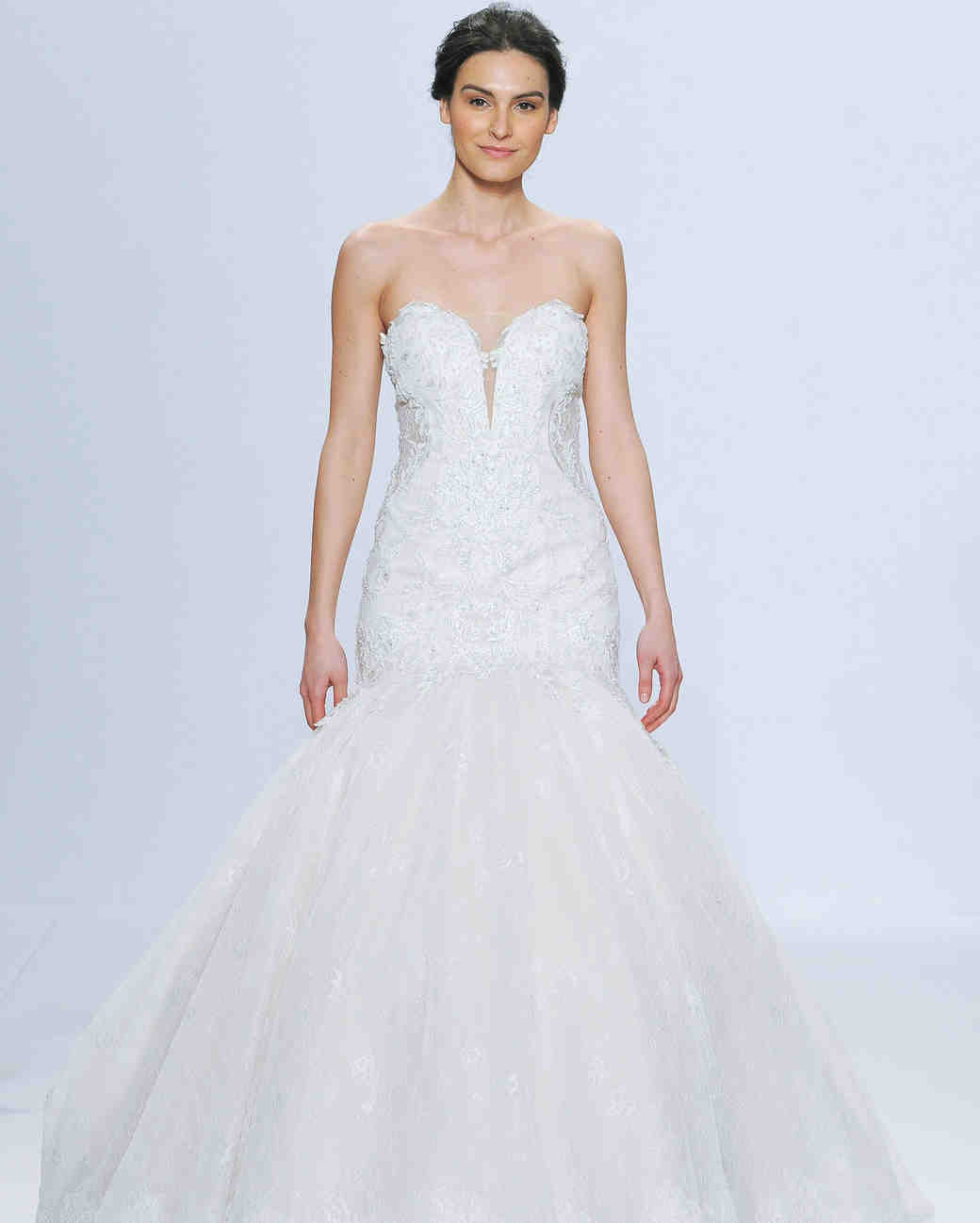 randy fenoli sharp v-neck wedding dress spring 2018