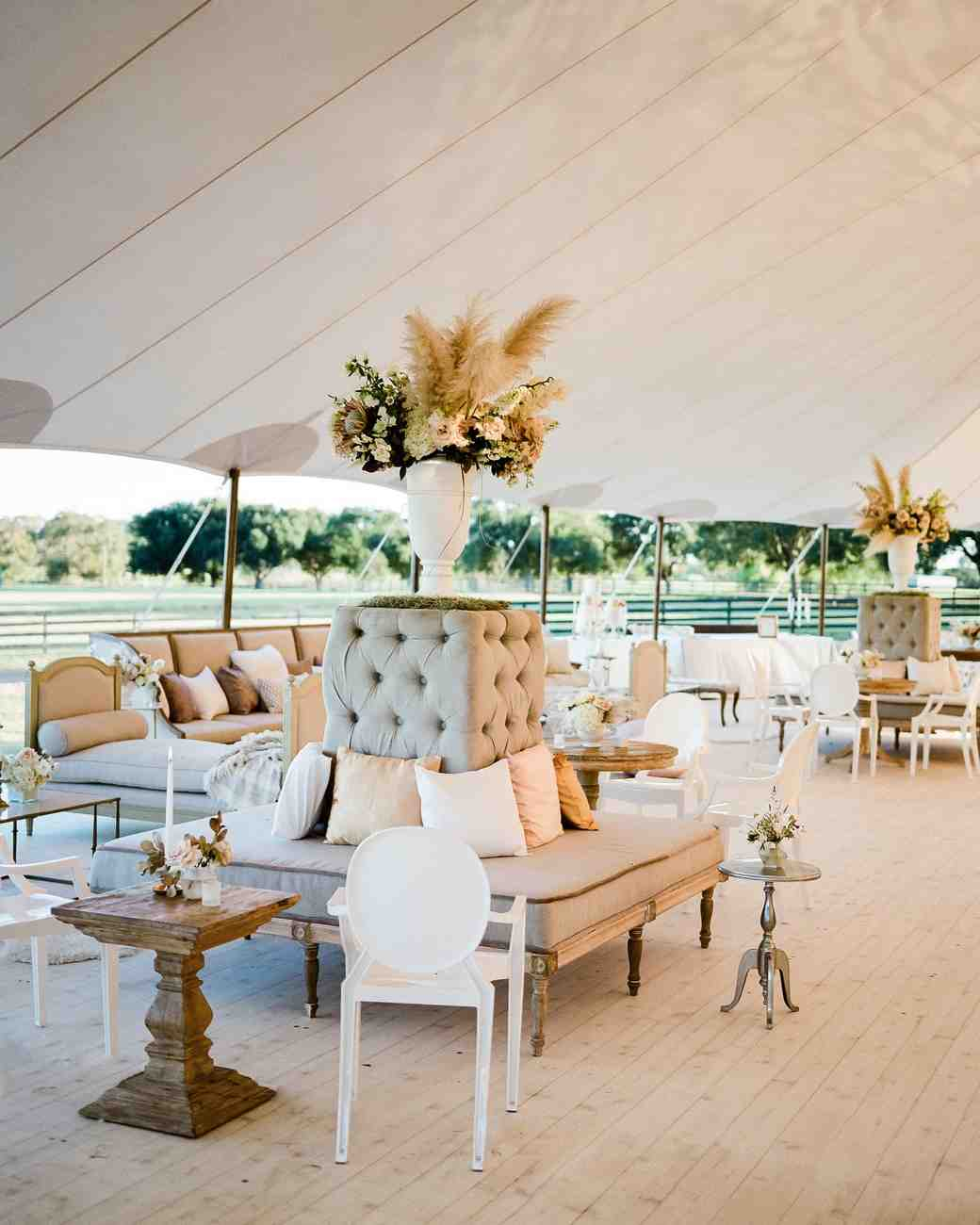 Wedding Lounge Ideas Your Guests Can Cozy Up To Martha Weddings