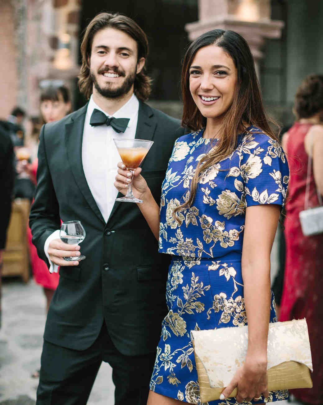 A comprehensive guide to wedding guest attire martha stewart weddings black tie optional formal junglespirit Image collections