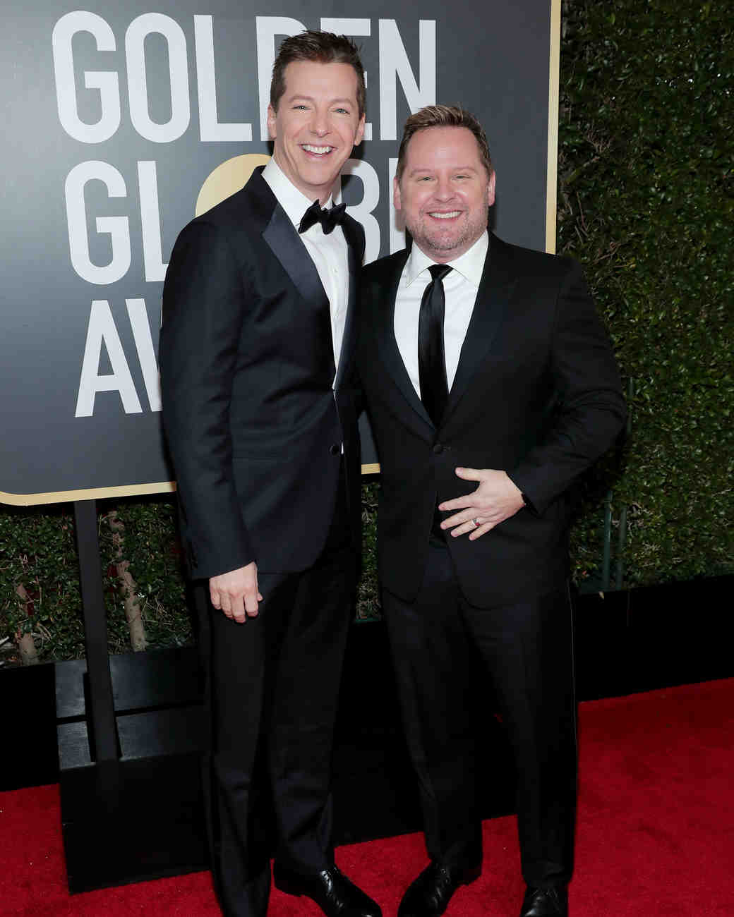 Hugh Jackman and Deborra-lee Furness 2018 Golden Globes