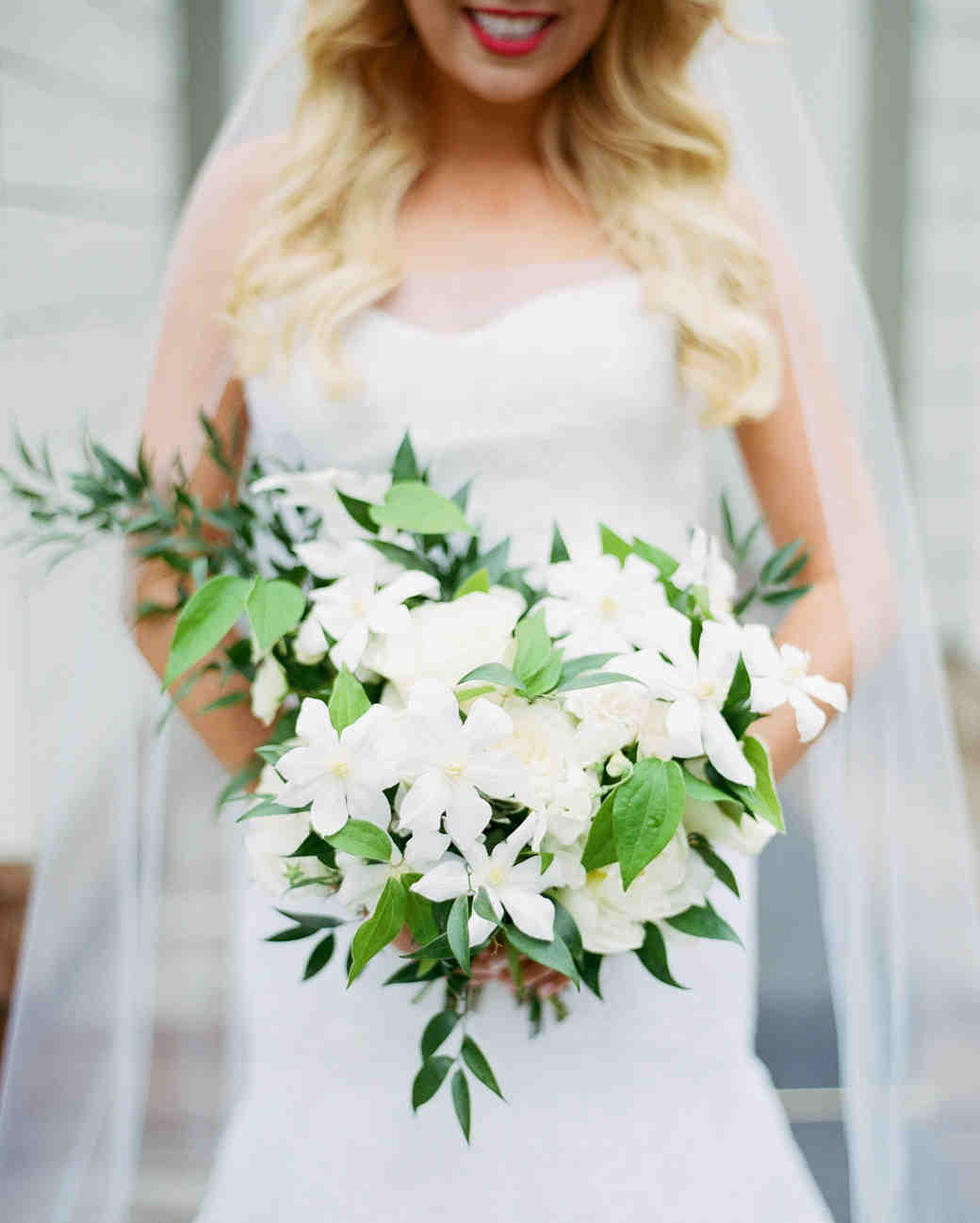 ethereal white bouquet