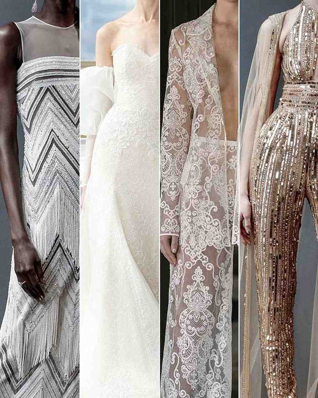 Wedding Dress Trends from Spring 2019 Bridal Fashion Week ...