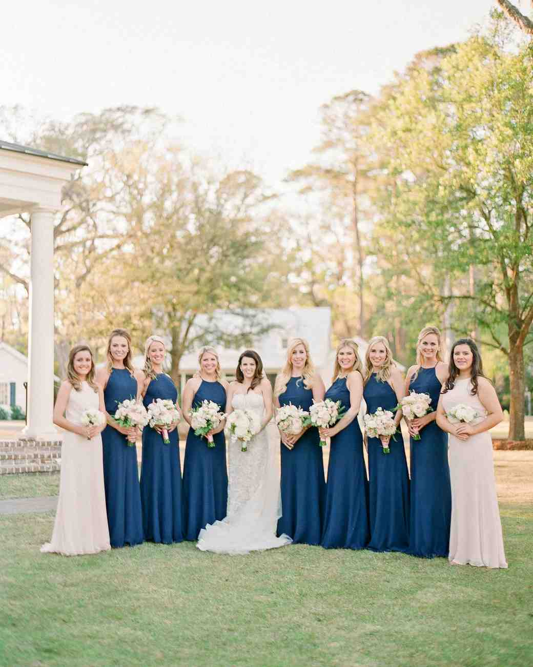 stefanie drew wedding bridesmaids