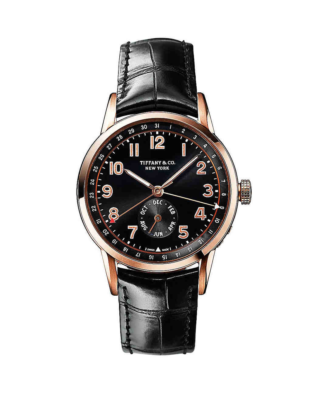 Tiffany & Co. CT60 Annual Calendar Watch in Rose Gold