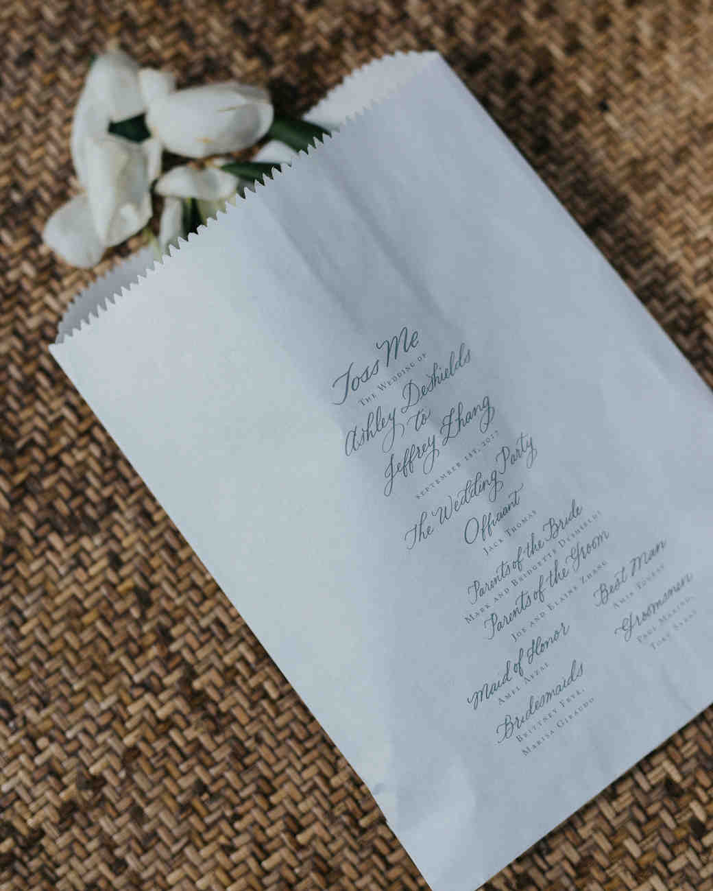 Unique Wedding Ideas Ceremony In The Woods: Unique Wedding Ceremony Program Ideas