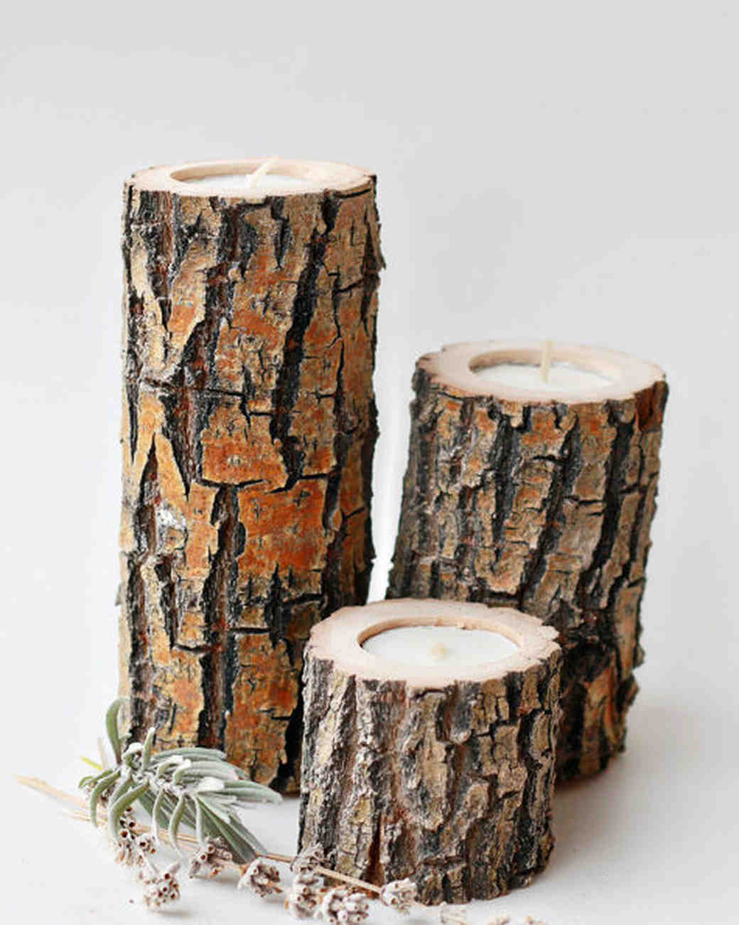 willow anniversary gift wooden candles