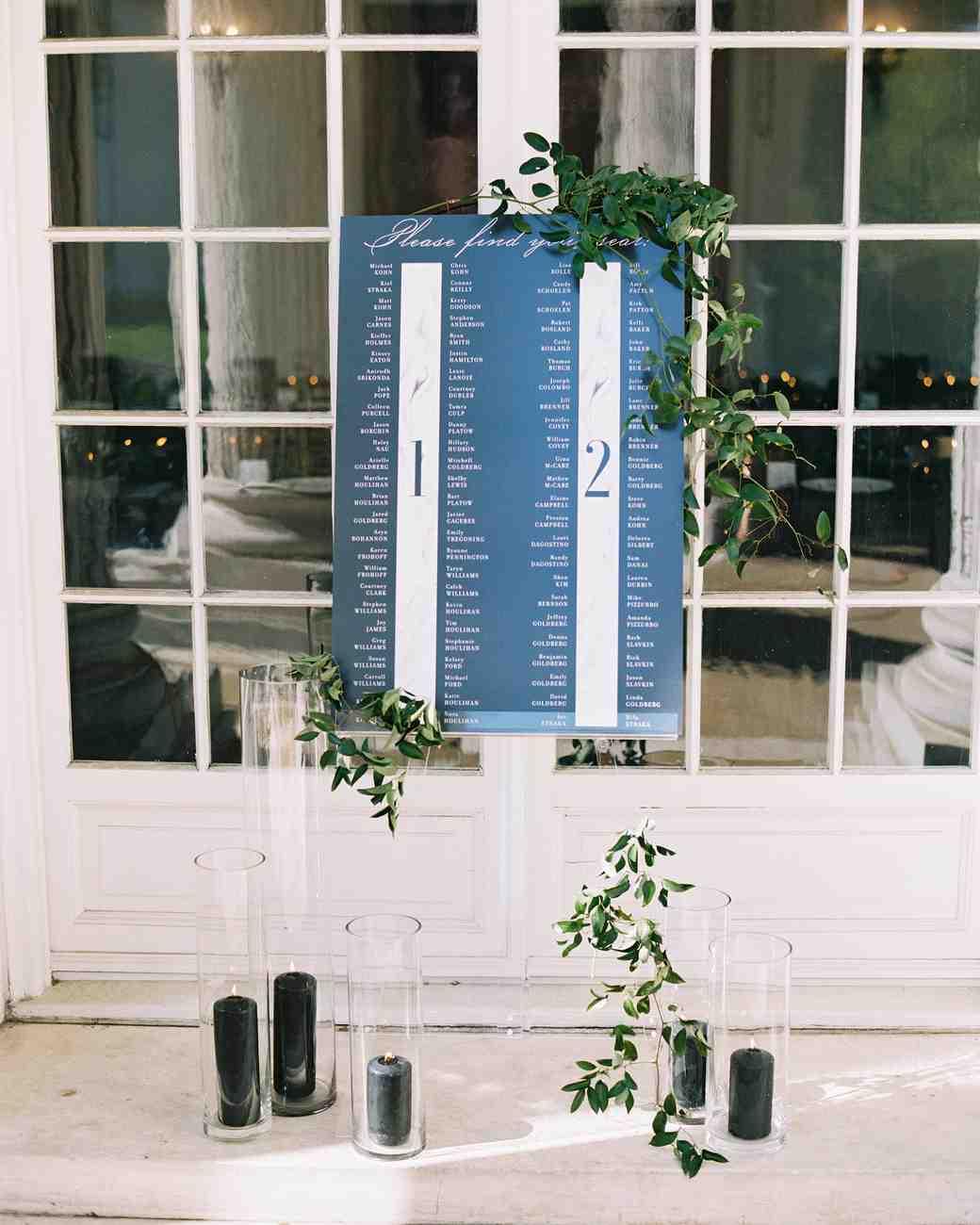interactive wedding seating chart