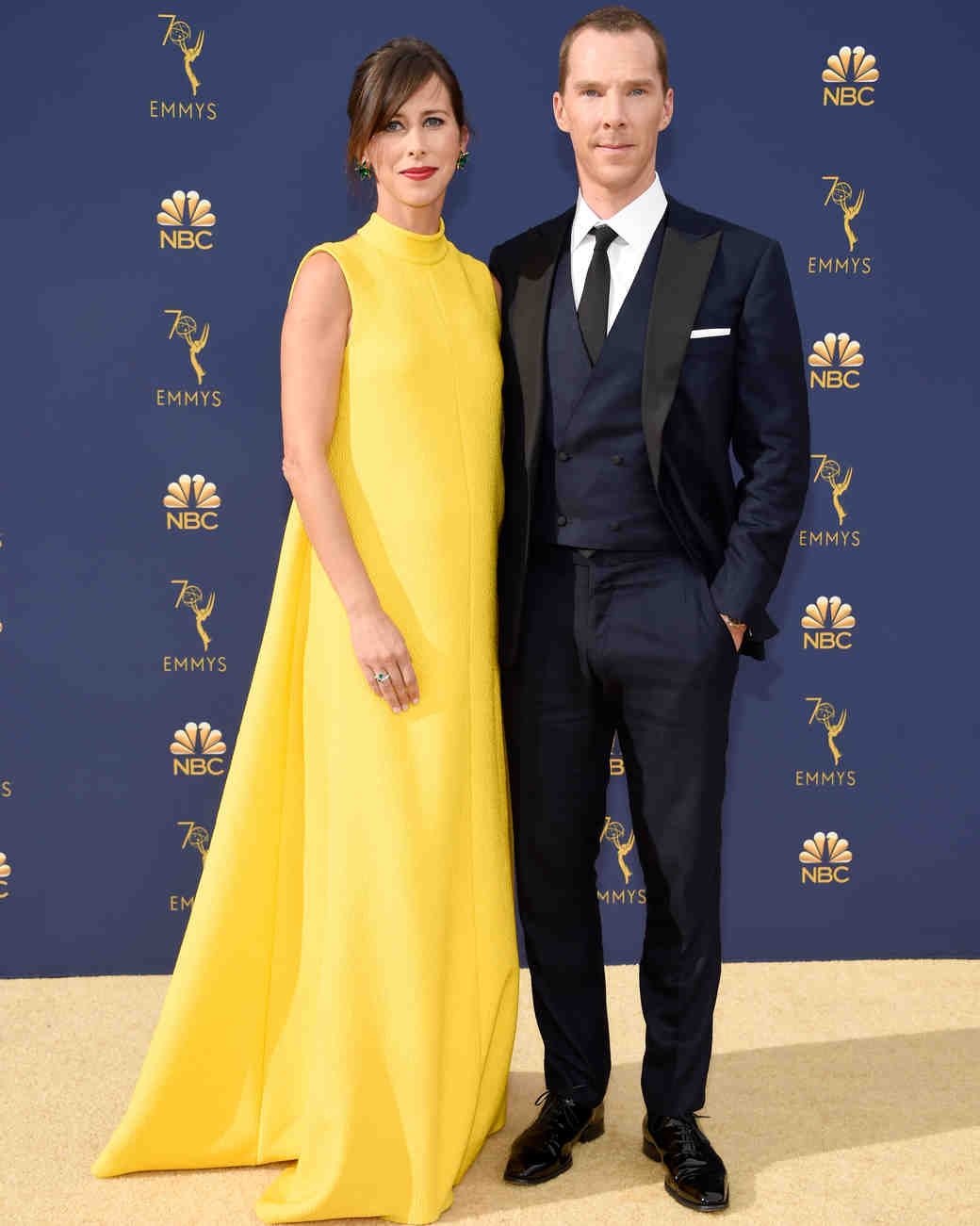 Sophie Hunter and Benedict Cumberbatch Emmys 2018