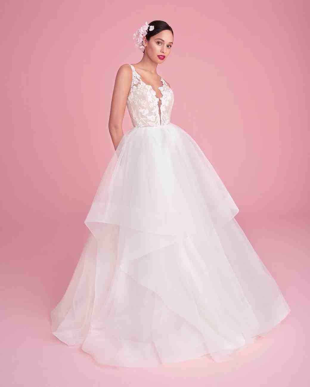 Lujo Vestidos De Novia Kleinfeld Embellecimiento - Colección de ...