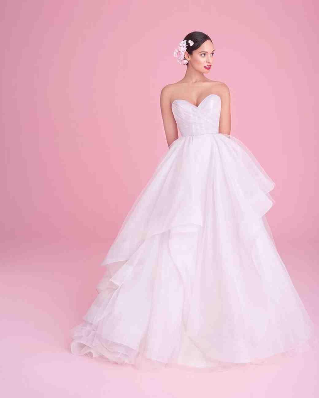 Perfecto Vestido De Novia Hayley Paige Ilustración - Colección de ...