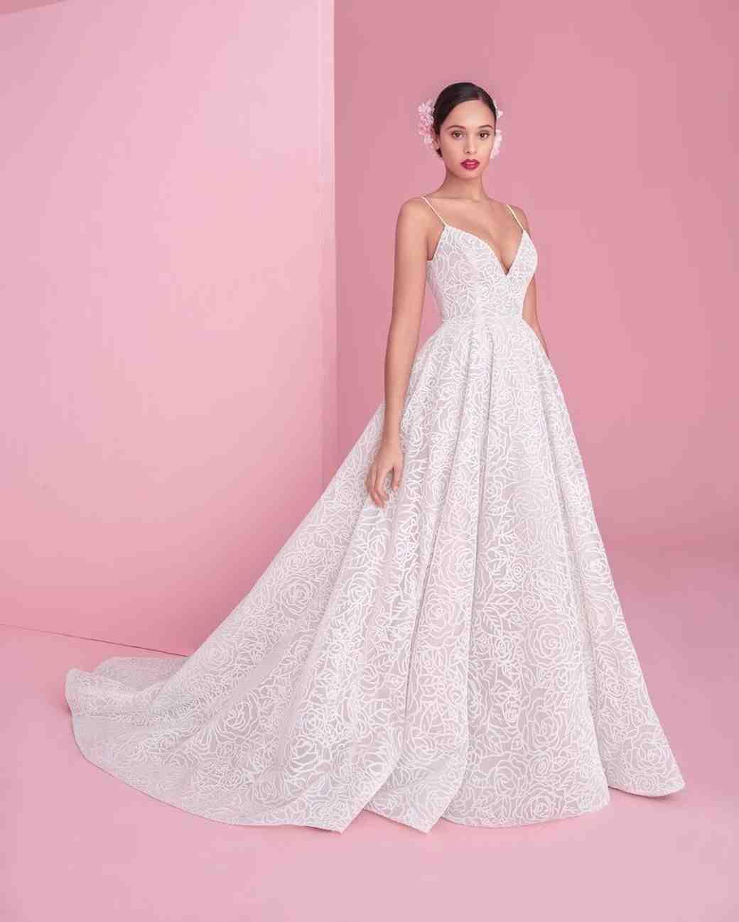 Magnífico Haley Paige Wedding Dresses Modelo - Ideas de Vestidos de ...