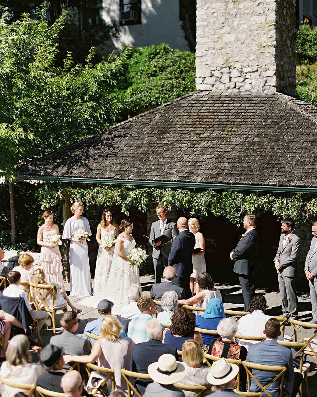 cassandra jason wedding outdoor ceremony