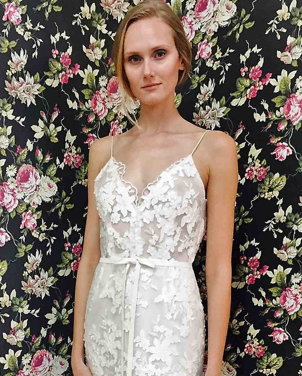Elizabeth Fillmore Fall 2017 Wedding Dress Collection - Mika