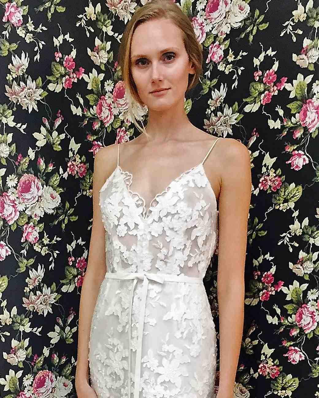 Elizabeth Fillmore Bow Wedding Dress