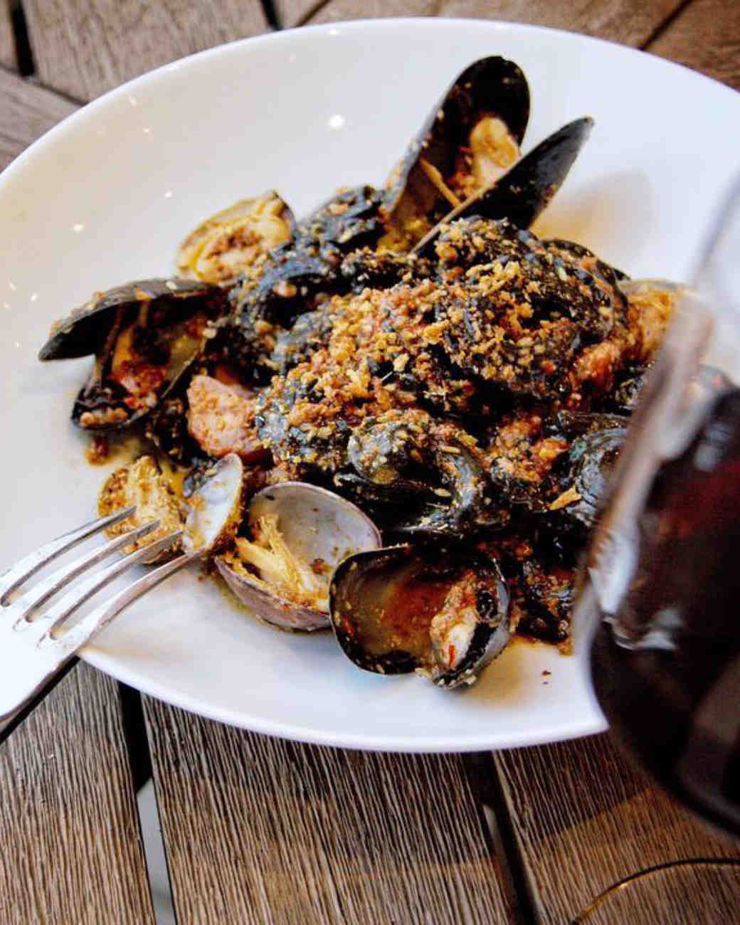caribbean seafood dish